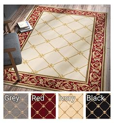 Contemporary Soft Living Dining Room Rug Formaldiningrooms Patrician Trellis Ivory French European Formal Traditional 5x7 53 X 7