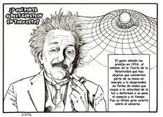 Las ondas gravitacionales. El descubrimiento del siglo en el campo ciéntifico, a través de seis ilustraciones