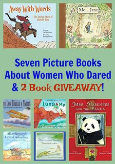 Seven Picture Books About Women Who Dared & 2 Book Strong Female Characters, Book Images, Chapter Books, Any Book, Fantasy Books, Picture Books, Historical Fiction, Book Authors, Book Recommendations