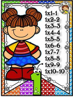 Back 2 School, First Day Of School, Preschool, Clip Art, Creative, Disney, 1, Child, Multiplication Tables