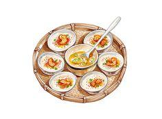 Vietnamese Food Illustrations on Behance