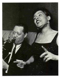 Lester Young and Billie Holiday
