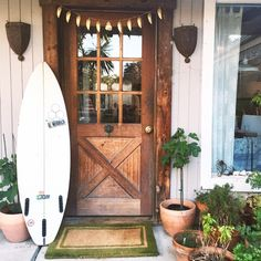 Missing the sweetest @airbnb ever - Santa Barbara surf pad you have my heart! ✨