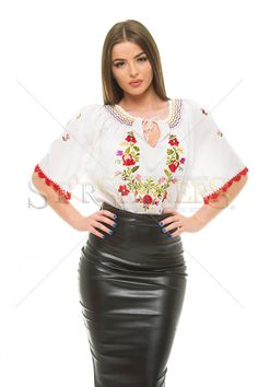 Blissful Touch DarkGreen Blouse The Casual Vacancy, Feeling Sorry For Yourself, Clothing Items, Bliss, Leather Skirt, Pencil Skirts, Touch, How To Wear, Outfits