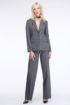Женский брючный костюм Grey