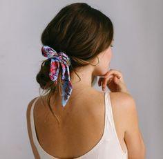 ¡Dale un giro a tu peinado con lindas mascadas! - Seventeen Magazine ¡Dale un giro a tu peinado con lindas mascadas!