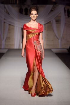 Abed Mahfouz - Haute Couture Fall Winter 2008/2009 - Shows - Vogue.it