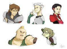 XMen Evo - Brotherhood Busts by Chizuri.deviantart.com on @deviantART