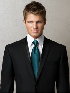 teal wedding tie - Google Search