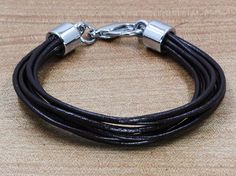 TOP leather bracelets wristband mens leather by edwinating on Etsy, $3.99