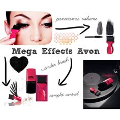 """New #MegaEffects Avon"" by raquel-lacasa on Polyvore Www.youravon.com/rosasantana"