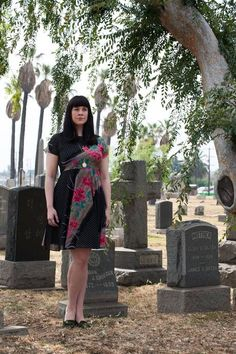 'Death becomes her: Meet the very modern mortician who champions 'cool' funerals' {by Tim Walker, via The Independent}