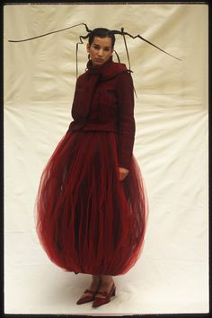 Julie Skarland, AW 1996/97 Ready-to-wear Photo: Wade H. Grimbly