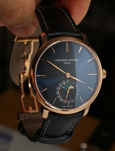 Frederique Constant Manufacture Slimline Moonphase Watch Review wrist time watch reviews