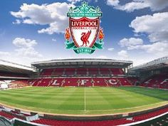 Anfield, home of Liverpool Football Club. Liverpool, England.