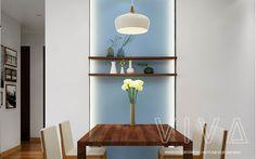 Thiết kế và thi công nội thất chung cư 90m2 đẹp, hiện đại