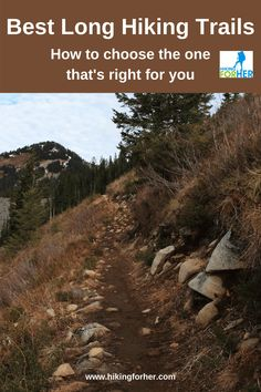 Choose the best long trail for your hiking style and motivation with these Hiking For Her tips. Backpacking Tips, Hiking Tips, Hiking Fashion, Bucket List Destinations, Happy Trails, Camping With Kids, Day Hike, Motivation, Survival Skills