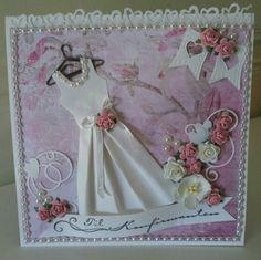 Jentekort Wedding Invitations With Pictures, Wedding Invitation Design, Wedding Messages, Wedding Cards Handmade, Diy Cards, Wedding Couples, Newlyweds, Birthday Cards, Birthdays