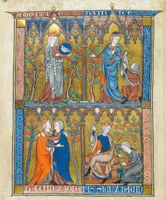 Somme le Roi, MS 28162, Fol 006v, ~1290-1300, France