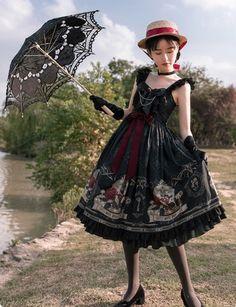 Vintage Victorian Lolita Black Gothic Dress · KoKo Fashion · Online Store Powered by Storenvy
