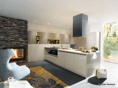 Best u keukens images home kitchens modern