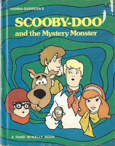 Scooby Doo & the Mystery Monster HC 1975 Rand McNally Hanna Barbera Cartoons Vintage Cartoons, Classic Cartoons, Cartoon Posters, Cartoon Characters, Cartoon Drawings, Desenho Scooby Doo, Scooby Doo Memes, Scooby Doo Mystery Inc, Collage Des Photos