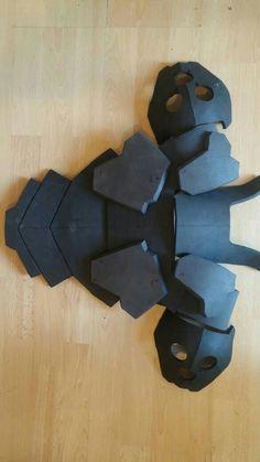 Genji unpainted back armour