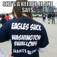 she's a keeper if... dallas cowboys