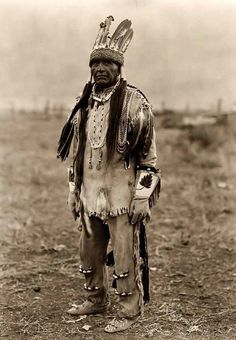 Klamath Indian Warrior. It was made in 1923 by Edward S. Curtis.