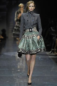 Armani Prive, fall 2007 couture. This is the only collection I loved for Armani Prive