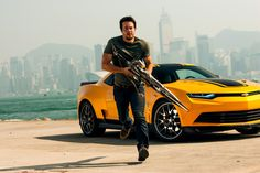 #Transformers 4 Review. #markwahlberg #bumblebee #transformers4 #ageofextinction