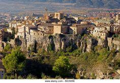 Hoz del Huecar.  Pueblo Viejo .  Cuenca (Patrimonio de la Humanidad).  Castilla-La Mancha.  Spain - Imagen De Archivo