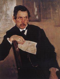 Portrait of A. Kasyanov - Valentin Serov