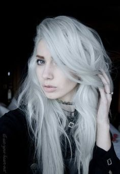 Sterling silver hair