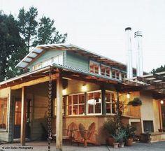 Unsweet Mama: straw bale house