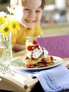 Breakfast: Leave It to the Kids- mother's day ;)