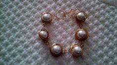 Alambrismo : Perlas Envueltas En Alambre (  Pearls Wrapped In Wire )
