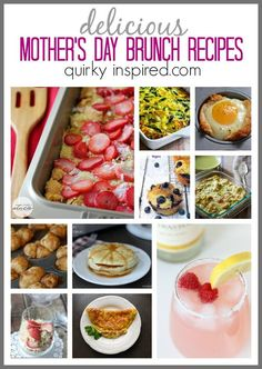Make Mother's Day even more special with these great Mother's Day brunch ideas!