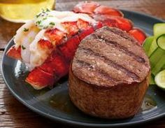 Filet Mignon & Lobster Tails For Two