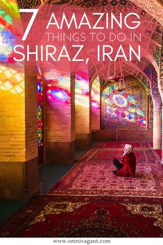 Read about the best things to do in Shiraz including Persepolis, Nasir al Mulk Mosque, the Shah e Cheragh Shrine, Tomb of Hafez and more. Iran Travel, Asia Travel, Travel Tips, Travel Destinations, Vietnam Travel, Travel Goals, Travel Guides, Pink Mosque, Ancient Architecture