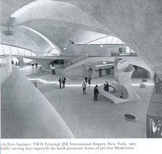 TWA terminal, JFK New York, 1962, by Eero Saarinen
