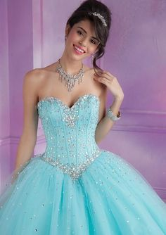 23 Tendencias De Vestidos De Xv Años Azul Cielo Para