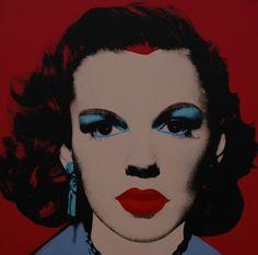 Judy Garland by Andy Warhol