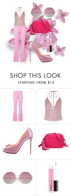"""""""Sem título #30"""" by mariajuliti on Polyvore featuring moda, Givenchy, Boohoo e Gucci"""