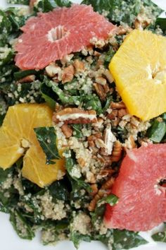 citrus kale quinoa s