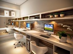 Beautiful and Subtle Home Office Design Ideas | Office designs ...