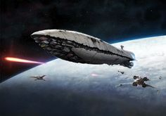 STAR WARS ~ A Rebel Transport Vessel, carrying vital cargo and personnel.