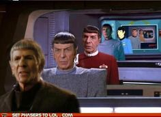 Recently, IDW Star Trek comics' writer Mike Johnson mentioned there are hints to the direction of the new film in the current comics series, which has been re-telling classic Star … Star Trek Original, Star Trek Spock, Star Trek Tos, Star Wars, Science Fiction, Time Images, Star Trek Movies, Leonard Nimoy, Starship Enterprise