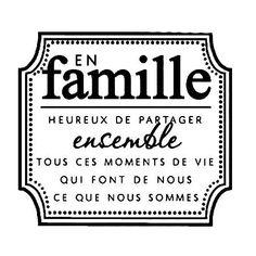 Tampon bois - En famille - 4 x cm - Carol Dailey Scrapbook Quotes, Baby Scrapbook, Photo Album Scrapbooking, Scrapbook Albums, Quote Memories, Life Is Beautiful Quotes, French Quotes, Tampons, Photo Quotes