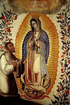 La Guadalupana y Juan Diego.   Flickr: Intercambio de fotos